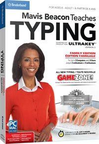 Mavis Beacon Teaches Typing Powered by Ultrakey v2 - Family Edition