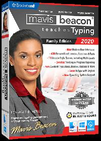 Mavis Beacon Teaches Typing 2020 - Family  Edition