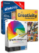 Ultimate design bundle - The Print Shop Deluxe 6.0, The Creativity Collection 3, Graphic Design Studio