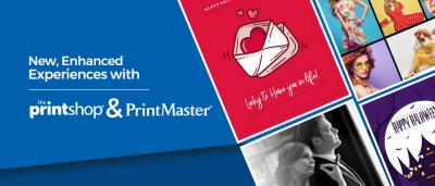 New, enhanced experiences with Print Shop and PrintMaster!