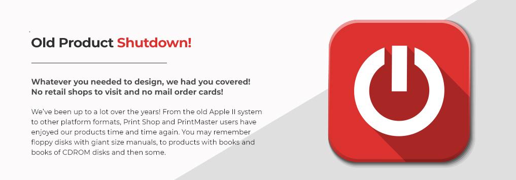 Old Product Shutdown!