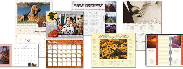 Create Calendars to Fit Your Style and Needs