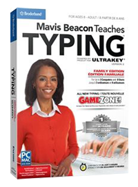 Mavis Beacon Teaches Typing Family Edition
