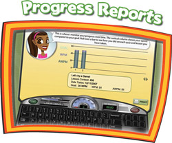 Mavis Beacon Keyboarding Kidz Report