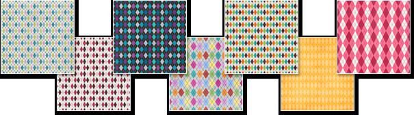 Argyle Plaid Patterns